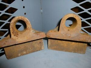 Antique Hit And Miss Engine Railroad Cart Rear Axle Mounts For 1 1 4 Axle