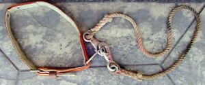 Klein Model 5442 Lineman Safety Belt Size Medium With Tether Pole tree Climbing