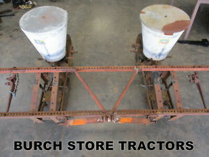 3 Point Hitch 2 Row Cole Corn Seed Planter