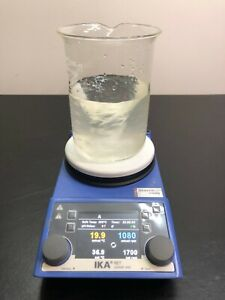 Ika Ret Control Visc White Hot Plate Magnetic Stirrer 0005030001 Warranty 115v