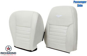 1999 2004 Ford Mustang Gt V8 Passenger Side Complete Leather Seat Covers White