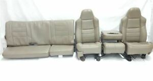 Full Set Of Seats Some Wear Super Cab Oem 2008 08 Ford F250sd Pickup R325484