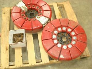 1958 Ford 861 Tractor Pie Weights 600 800 8n Naa