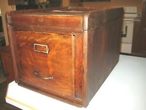 Weis Antique Stack File Cabinet Section Top Quartersawn Oak Office Furniture