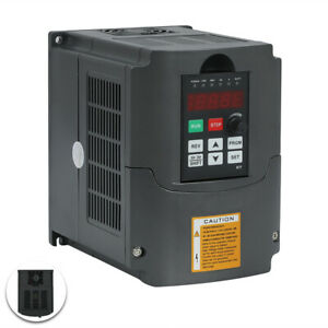 Used Hy Brand 220v 4kw 5hp Variable Frequency Drive Inverter Vfd For Cnc