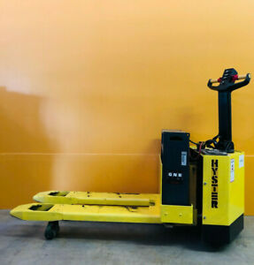Hyster W60xl 6000 Lbs Capacity Walk behind Electric Pallet Jack Manual