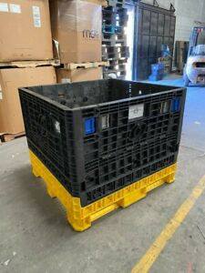 Collapsible Bulk Containers 48x45x39 In Used