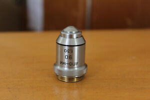 Lomo Microscope Objective Apochromat 90x 1 30 Rms Mikroskop Oil Immersion