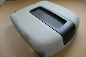 Oem Armrest Center Console Cover Gray Leather Chevy Tahoe Suburban 07 13 Truck