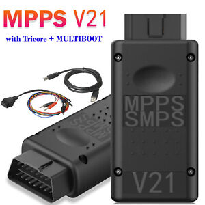 Mpps V21 Main Tricore multiboot With Breakout Tricore Cable Ecu Chip Turnning