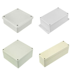 Various Sizes Electronic Abs Plastic Diy Junction Box Universal Enclosure Case