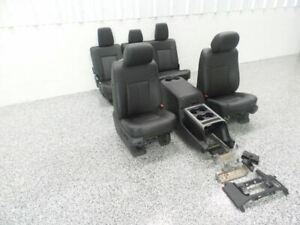 11 16 Ford F250 Leather Seats Seat Set Crew Cab Heated And Cooled 519955