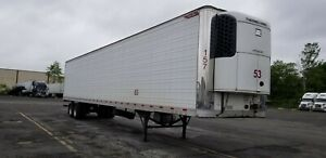 Great Dane Reefer Trailer 53 Thermoking Unit 2013 Year