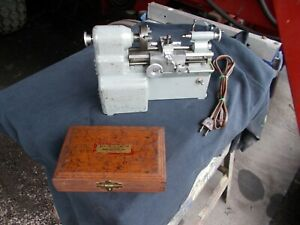 Manson Lathe small Machine Co masterson Lathe man son Lathe With Box And Tooling