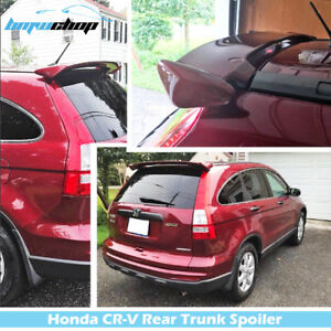 Fit For Honda Cr V M Type Trunk Spoiler Wing 3rd Hatchback 07 11 Painted R525p