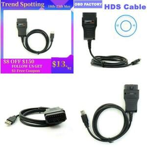 Hds Diagnostic Cable For Honda Obd2 Diagnostic Interface Honda Hds Cable Tester