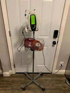 Welch Allyn 420 Vital Signs Patient Monitor W Rolling Stand Patient Ready