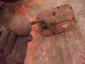 Farmall A Tractor Ih Transmission Housing Gear Shifter Fork Assembly Steel Knob
