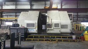 Clausing Ck104122 tt Cnc Lathe 2008 104 X 122 W Extended Carriage