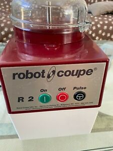 Robot Coupe R2 Food Processor With New Bowl Lid First Class Shape