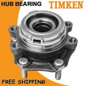 Timken Front Wheel Hub And Bearing Assembly For 2013 2018 Nissan Pathfinder