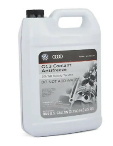 Engine Red Coolant 50 50 Antifreeze 1 Gallon Genuine Vw For Volkswagen G12 G13