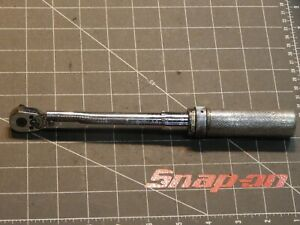 Snap On Tools 3 8 Drive Torque Wrench 40 200 Lb In Qjr217d Dr Ratchet