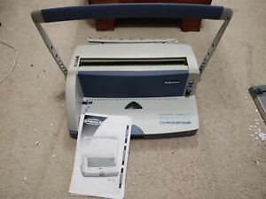 Fellowes Wb150 Wire Binding Machine 120 Sheet