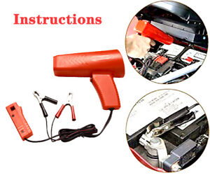New Engine Ignition Inductive Timing Light Automotive Lamp Strobe Tester Gun