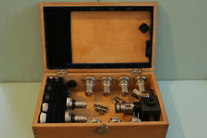 Lomo Microscope Polarising Petrographic Set Objectives Reflected Light Opi