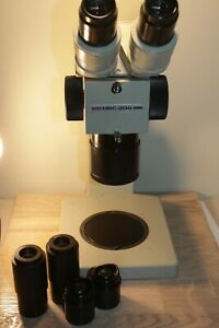 Lomo Mbs 200 Stereo Microscope Mikroskop Set