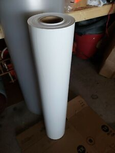 10 Oz Poly Vinyl Banner Material Gloss White W 38in L 300ft