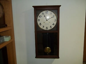 Fully And Properly Restored Seth Thomas Time And Strike Office No 6 Regulator