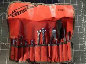 Snap On Pearson 11pc Midget 4 Way Ignition Wrench Tune Up Set 15 64 3 8 C110d
