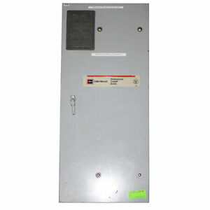 Cutler hammer Westinghouse Mtvxkda40300esu Manual Transfer Switch 600v 300a