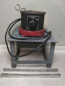 American Beauty Solder Pot Model 600 With Stand 2 Extra Solder Bars
