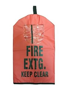 New Fire Extinguisher Covers W Window 10lb Abc Co2 Halotron Water 25 X 16 1 2