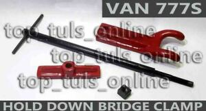 777s Van Norman Boring Bar Hold Down Bridge Clamp Complete Assembly