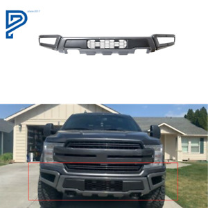 New Raptor Style Steel Front Bumper Assembly Fit For F 150 2018 2019 2020 Gray