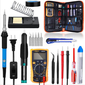 60w 21 In1 Soldering Iron Kit Electronics Welding Irons Solder Tools W
