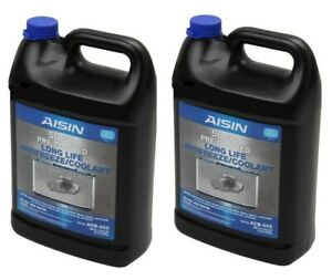 2 Gallons Engine Coolant Antifreeze Blue Aisin For Acura Cl Honda Nissan Subaru
