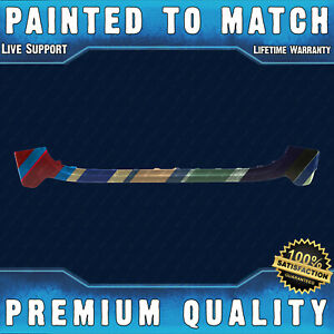 New Painted To Match Front Bumper Cover For 2017 2020 Jeep Grand Cherokee 17 20