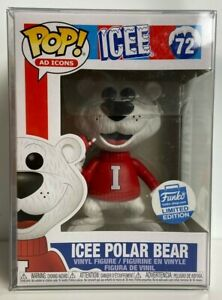 Funko Pop Ad Icons Icee Polar Bear 72 Cyber Monday Exclusive W Protector