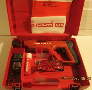 Hilti Dx E72 Powder Actuated Tool Preowned