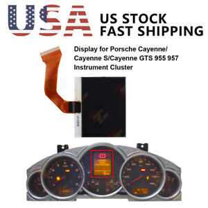 Display For Porsche Cayenne 955 957 And Vw Touareg Instrument Cluster Us Stock
