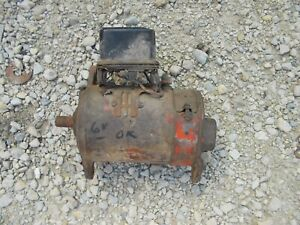 Universal Farmall Ih Tractor Good Working 6v Generator W Regulator