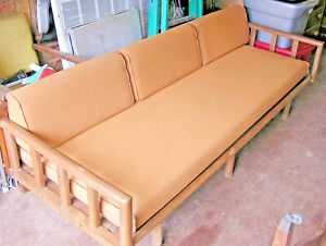 Mid Century Sofa Daybed Made In Yugoslavia 88 Inch Rare Vintage