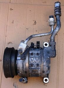 Nissan March K11 Air Conditioner Compressor 92600 41b00 Dkv 14d R 12 Used