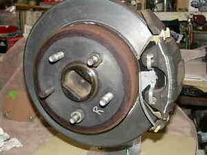 1965 1973 Ford Mustang Rear Disc Brake Conversion Adapting Parts 9 8 Spacers