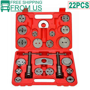 12pcs Front Rear Disc Brake Caliper Piston Rewind Wind Back Auto Tool Kit Set